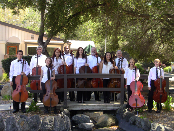 Carter Dewberry and the OC Cello Choir